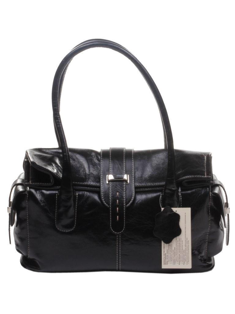 e1b47eaf9af4 ... Сумка женская Mattioli кожаная черная на клапане купить в  интернет-магазине Шарпей. ...