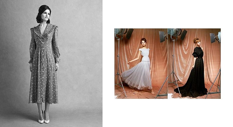 95ca40dbd70 Одно из платьев Ulyana Sergeenko Couture было представлено на престижной  парижской выставке «Маленькое чёрное платье».
