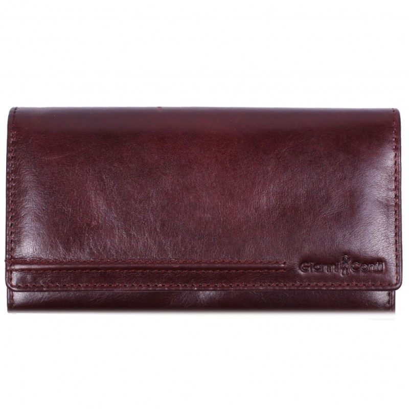 1d0e488d8371 Кошелек кожаный Gianni Conti 708150 brown купить в интернет-магазине ...