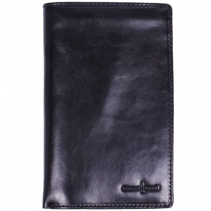 e1a6ac41f5e5 Кошелек кожаный Gianni Conti 908028 black купить в интернет-магазине ...